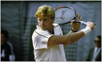Tennis, Borris Becker, revers