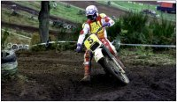 Moto-cross, la 5 dans le virage