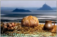 Nature morte sur le Mont Saint-Michel